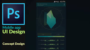 application ui design mobile application ui design concept in adobes photoshop