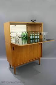Retro Bar Cabinet Mid Century Sideboard Desk Hall Bar Cocktail Cabinet Vintage Retro