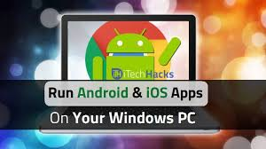 android on pc 7 emulators how to run android and iphone ios apps on pc