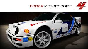 ford group forza 4 1080p speed art ford rs200 evolution rally paint youtube