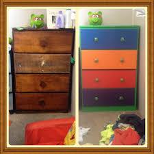 Kids Bedroom Dresser by Upcycled This Old Dresser Into A Teenage Mutant Ninja Turtles