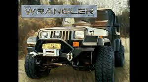 jeep yj rear bumper e autogrilles rear bumper with tire carrier wrangler yj un