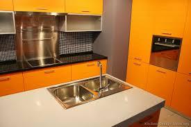 Orange Kitchens Ideas Pictures Of Modern Orange Kitchens Design Gallery