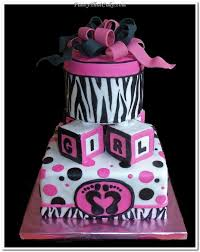 pink and black baby shower cakes 3fcd98ff16d936358e47f90cc6c665ad