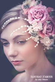 floral headdress wedding wednesday wonderful floral headpieces by swann