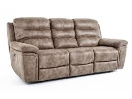Power Reclining Sofa And Loveseat by Kuka Home Km008 Casual Power Reclining Sofa Baer U0027s Furniture