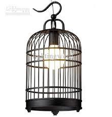Birdcage Pendant Light Chandelier Selling Modern Fashion Black White Iron Birdcage Pendant L