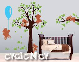 Baby Nursery Wall Decal Adorable Teddy Bears Wall Decals And Baby Nursery Wall