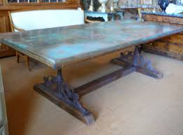 copper dining room tables table twi pm bfm5 f a amazing cooper dining tables glorious