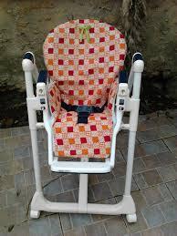 siege bebe adaptable chaise patron grandeur nature tuto housse chaise haute dehoussable