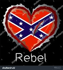 Rebel Flag Image Rebel Flag Claw Scratches Stock Vector 223269790 Shutterstock