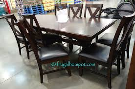 Costco Dining Room Sets Costco Sale Bayside Furnishings 9 Pc Dining Set 699 99 Frugal