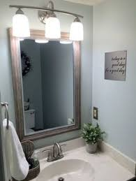 Sherwin Williams Sea Salt Bathroom 9 Ways To Make A Half Bath Feel Whole Mint Green Walls Gray