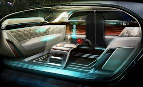 limousine bentley bentley shows autonomous u201cfuture of luxury u201d pod with holographic