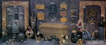 halloween casket 1994 95 studios catalog blood curdling blog of monster masks
