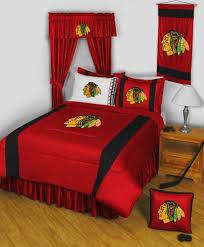 Hockey Bedding Set Nhl Chicago Blackhawks 5pc Hockey Bedding Set