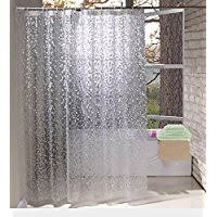 See Through Shower Curtain Amazon Co Uk Shower Curtains Home U0026 Kitchen