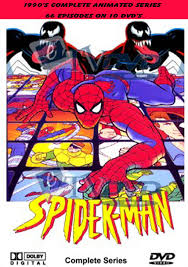1994 spiderman animated cartoon boxed dvd media collectibles
