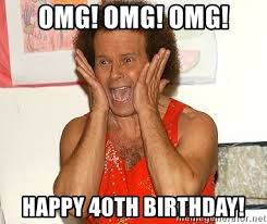omg omg omg happy 40th birthday richard simmons happy birthday