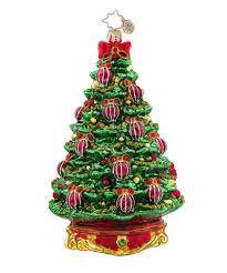 christopher radko glass noble fir christmas tree ornament 1017566