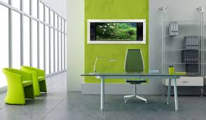 simple office design furniture modern silver led task l and green pencil holder on