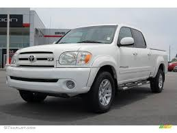 2005 natural white toyota tundra limited double cab 13085031