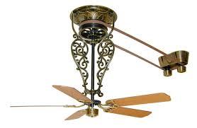 Ceiling Fan Features Fanimation Fp580ab 18 L1 Fan Antique Ceiling Fans Belt Driven