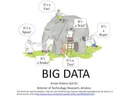 Blind Men And The Elephant Poem Big Data Overview