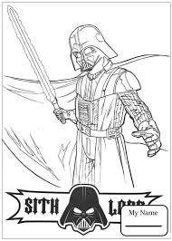 A New Hope Cartoons Darth Vader Coloring Pages Colorpages7 Com Darth Vader Coloring Pages