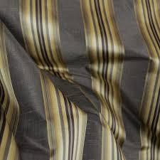 Black Drapery Fabric Candia Twilight Black Gold Striped Fabric Traditional Drapery