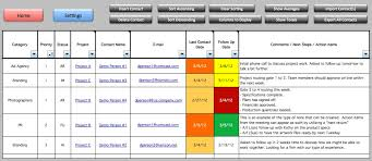 Excel Templates For Tracking Project Management Tracking Templates Excelide