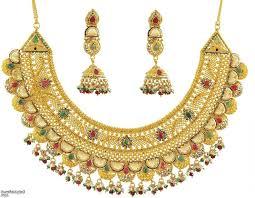 gold earrings price in pakistan sharp bridal gold jewellery designs with price in pakistan bfbc