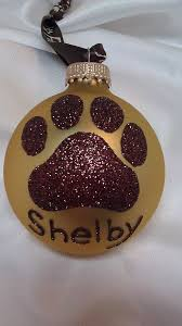 Custom Made Christmas Ball Ornaments by Best 25 Dog Christmas Ornaments Ideas On Pinterest Dog