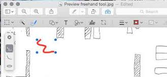macos does the preview app have a freehand pen pencil tool