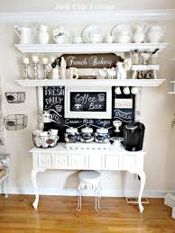 home coffee station ideas floating cup and furniture rack