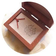 romantic gift idea a short love note in a wood box sealed with