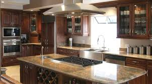 Mirror Backsplash In Kitchen by Walnut Wood Saddle Shaker Door Kitchen Islands With Stove