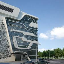 building concept office building of a gas company by naser nasiri and taher nasiri