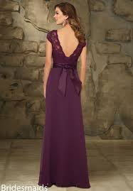 elegant illusion sweetheart cap sleeve plum lace chiffon long