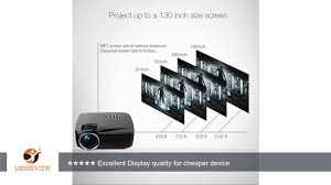 wireless home theater projector portable wifi projector android os hizek 1200lm led bluetooth