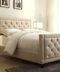 beautiful headboards graceful upholstered headboard and footboard diy 1420714210289