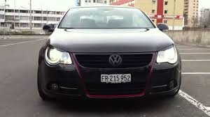 volkswagen convertible eos white vw eos 20 pouces 2 youtube