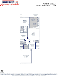 All In The Family House Floor Plan Dr Horton Homes