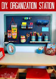 Back To School Desk Organization Back To School Homework Caddies The Builder S
