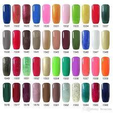 nail polish soak off gel polish gelish nail art uv gel long