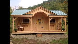 tiny house kits vermont post and beam sheds and cabin kits youtube