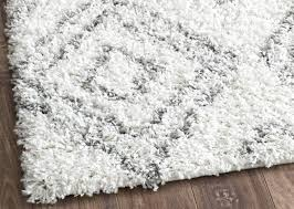 Shaggy Cream Rug Area Rugs Awesome White Shag Area Rug Cool Rugs Round Design