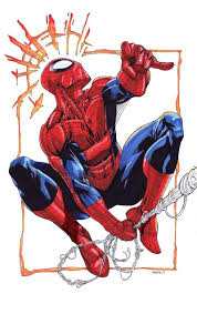 spider man colored sotd robertatkins deviantart