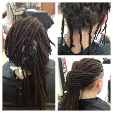 How To Dread Hair Extensions by Braids By Bee The Braiding Depot Fix Natural Dreads