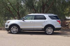 Ford Explorer White - 2016 ford explorer by the numbers